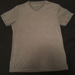 Grey V- Neck Shirt size Medium